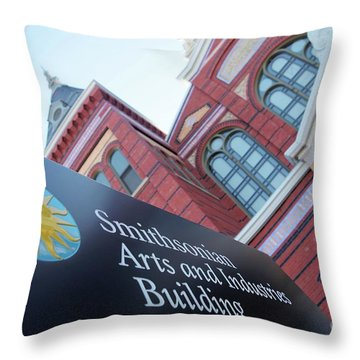 Arts And Industry Museum  Throw Pillow
