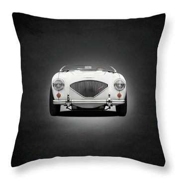 Austin Healey 100 Le Mans Throw Pillow