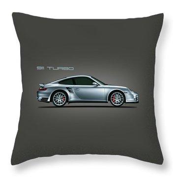 Porsche 911 Turbo Throw Pillow