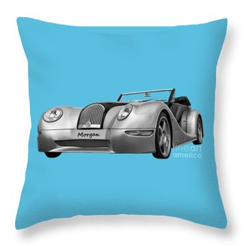 Morgan Throw Pillow by Scott Carruthers