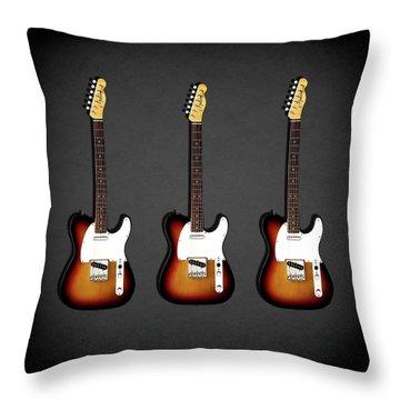 Fender Telecaster 64 Throw Pillow
