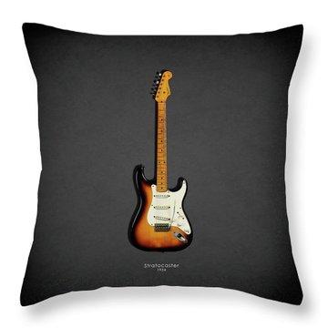 Fender Stratocaster 54 Throw Pillow