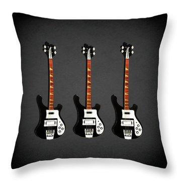 Rickenbacker 4001 1979 Throw Pillow