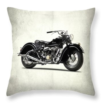 The 1947 Chief Throw Pillow