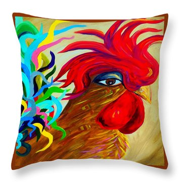 Just Plain Silly 2 Throw Pillow