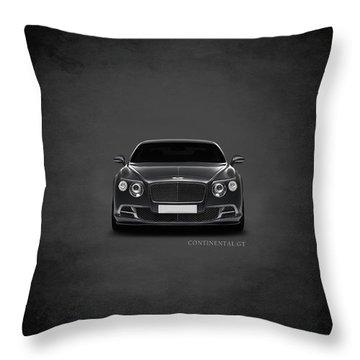 Bentley Continental Gt Throw Pillow