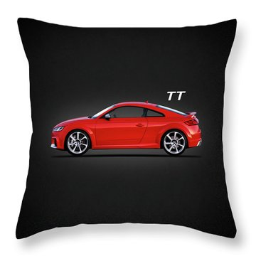 The Tt Coupe Throw Pillow