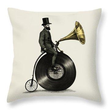 Music Man Throw Pillow