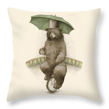 Frederick Throw Pillow by Eric Fan