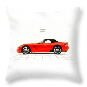 Dodge Viper Srt10 Throw Pillow