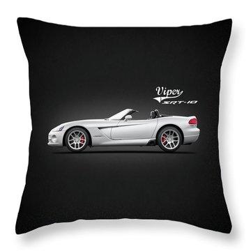 Dodge Viper Srt10 Throw Pillow