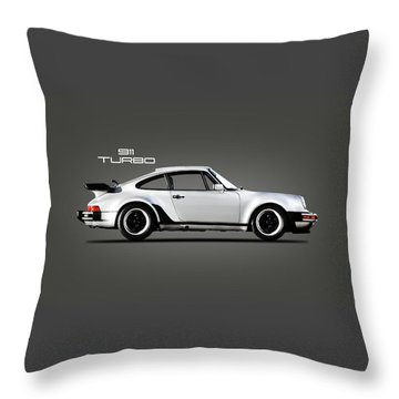 The 911 Turbo 1984 Throw Pillow