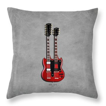 Gibson Eds 1275 Throw Pillow by Mark Rogan