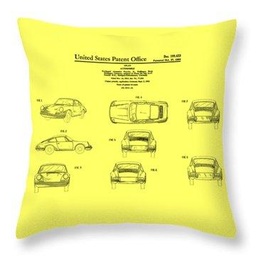 Patent Throw Pillows