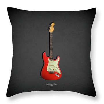 Fender Stratocaster 63 Throw Pillow