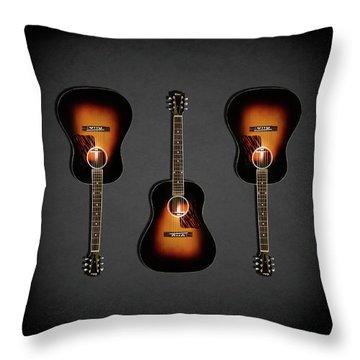 Gibson Original Jumbo 1934 Throw Pillow