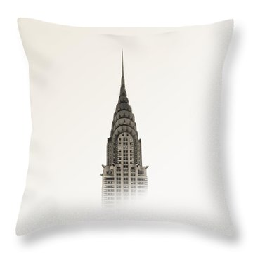 Chrysler Building - Nyc Throw Pillow