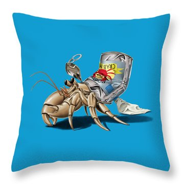 No Place Like Home Colour Throw Pillow