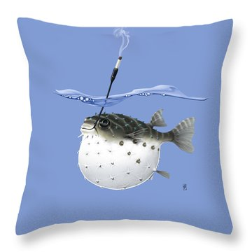 Take It Outside Colour Throw Pillow