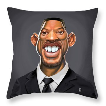 Celebrity Sunday - Will Smith Throw Pillow