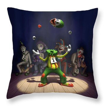 A Hard Act To Follow Throw Pillow