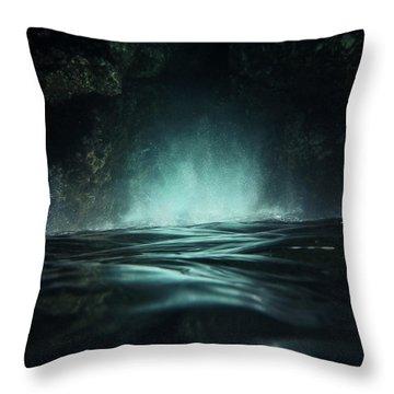 Surreal Sea Throw Pillow