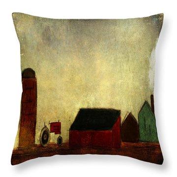 Barnyard Lullaby From Ginkelmier Land Throw Pillow
