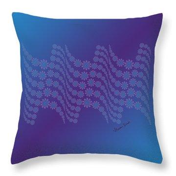 Twilight Ocean Throw Pillow