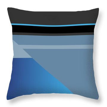 Symphony In Blue - Movement 1 - 1 Throw Pillow