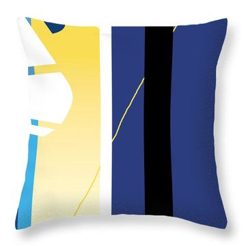 Symphony In Blue - Movement 2 - 1 Throw Pillow