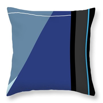Symphony In Blue - Movement 3 - 3 Throw Pillow