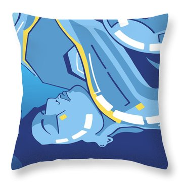 Symphony In Blue - Movement 4 - 2 Throw Pillow