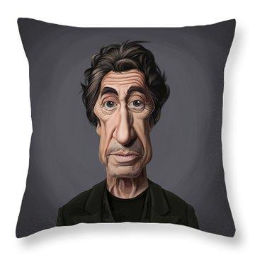 Celebrity Sunday - Al Pacino Throw Pillow