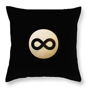 Infinity Ball Throw Pillow by Nicholas Ely