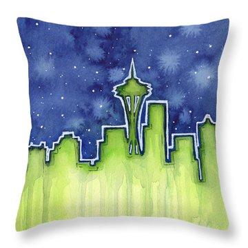 Seattle Seahawks Throw Pillows