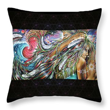 Sacred Union Throw Pillow