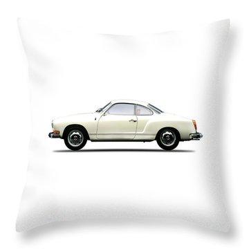 The Karmann Ghia Throw Pillow