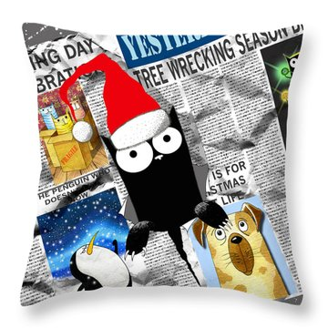 Christmas Special Throw Pillow
