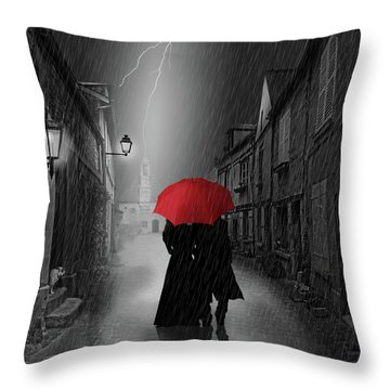 Together Forever Throw Pillow by Monika Juengling