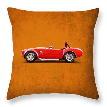 The Cobra Throw Pillow by Mark Rogan