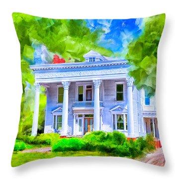 Classically Southern - Montezuma Georgia Throw Pillow