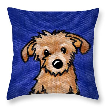 Kiniart Portrait Bingo Throw Pillow