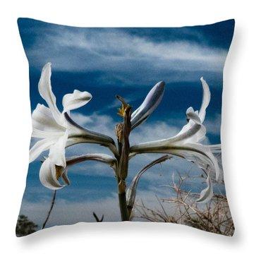Life Amoung The Weeds Throw Pillow