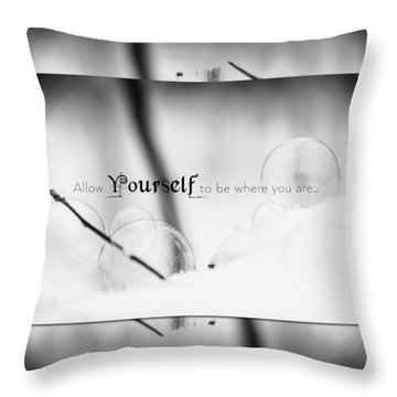Yourself Throw Pillow