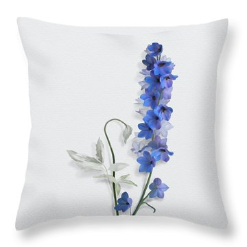 Consolida Throw Pillow by Ivana Westin