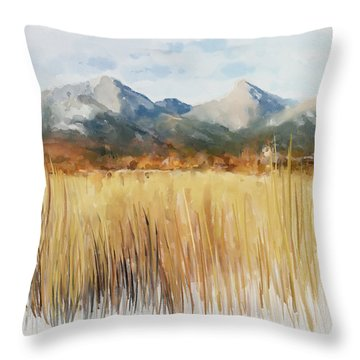 Not Far Away Throw Pillow