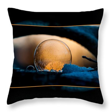 Captured Sunrise Throw Pillow