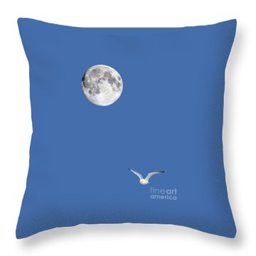 Solitude Throw Pillow by Michael Peychich