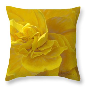 Cheerful Throw Pillow