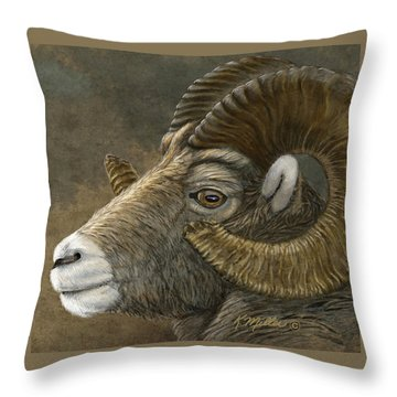 Bighorn Throw Pillow
